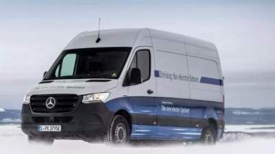 Электрический Mercedes-Benz Sprinter показали без камуфляжа